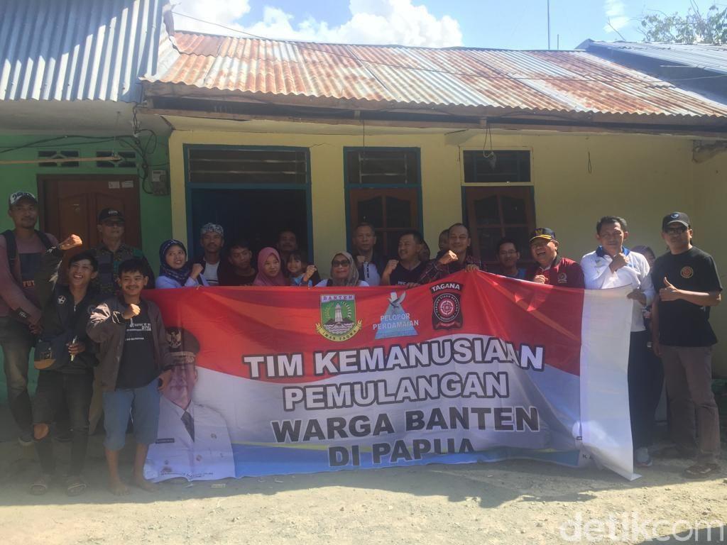 16 Warga Banten di Jayapura Siap Dipulangkan, Lainnya Masih Dicari