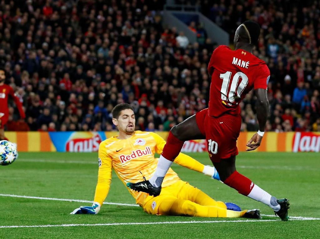 Babak I Tuntas, Liverpool Ungguli Salzburg 3-1