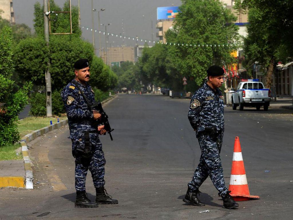 Demonstrasi Antipemerintah di Irak Ricuh, 27 Orang Tewas