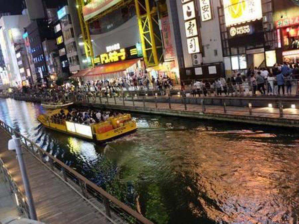 Dotonbori, Tempat Wisata Malam Populer Jepang