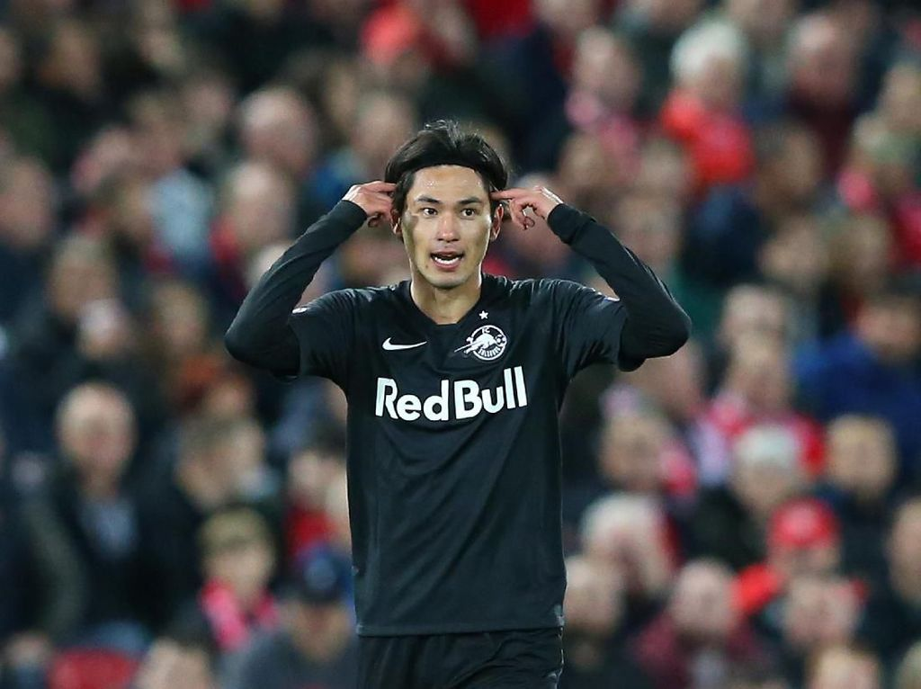 Salzburg dan Liverpool Sedang Negosiasikan Minamino