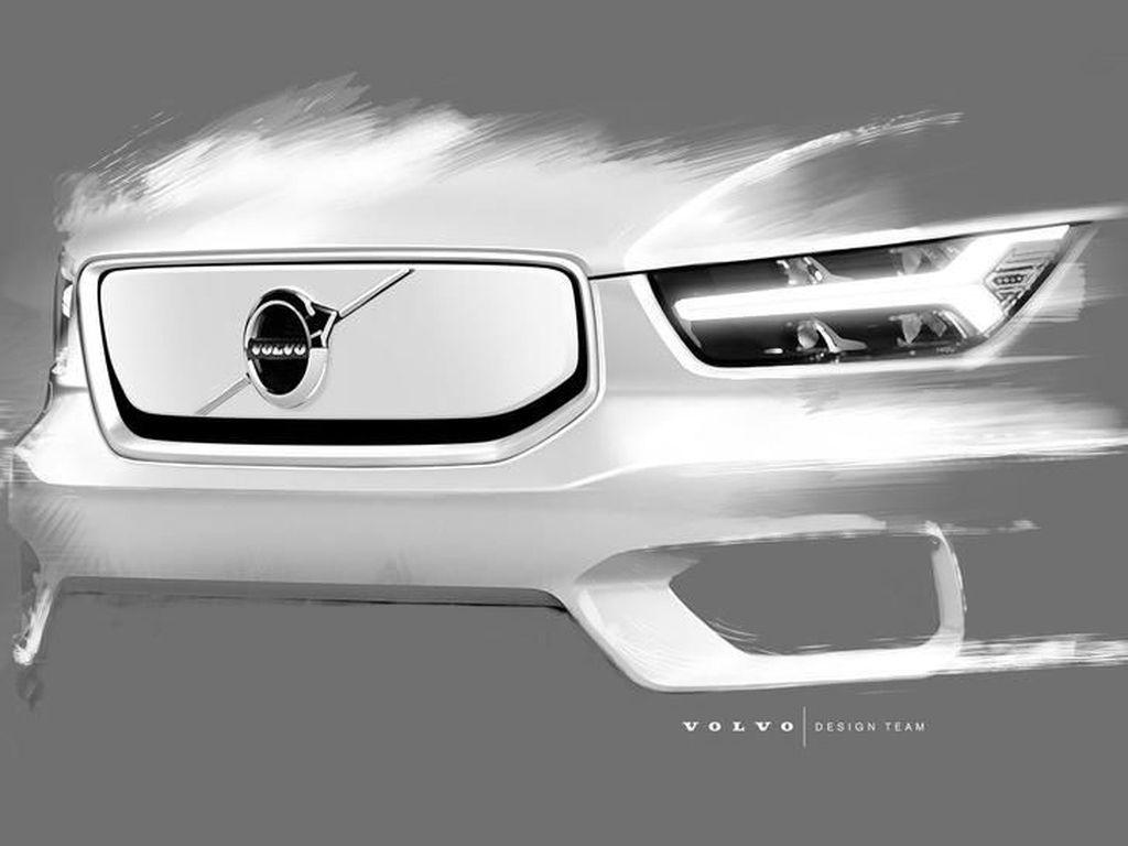 Volvo Bocorkan Desain Mobil Listrik Barunya, Keren Nggak?