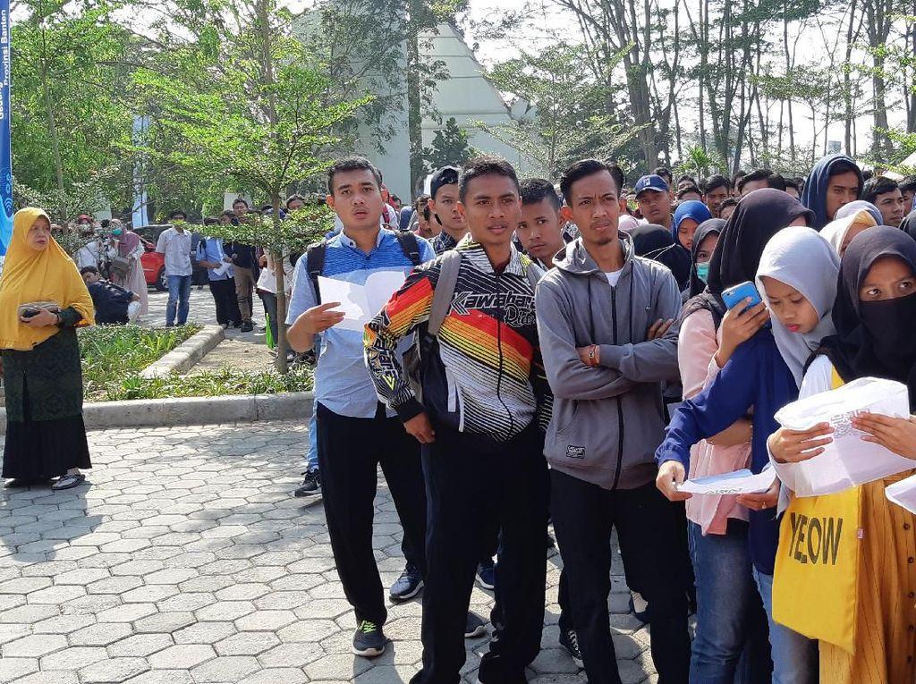 Banten Gelar Job Fair, Sediakan 10 Ribu Lowongan Kerja