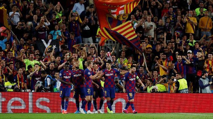 Marc-Andre ter Stegen mengungkapkan Barcelona telah kembali ke jalur yang benar. (Foto: Albert Gea/Reuters)