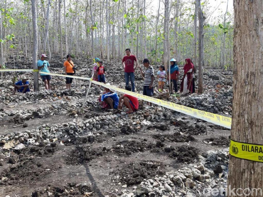 Kerangka Manusia yang Ditemukan di Kebun Jati Gunungkidul Dites DNA