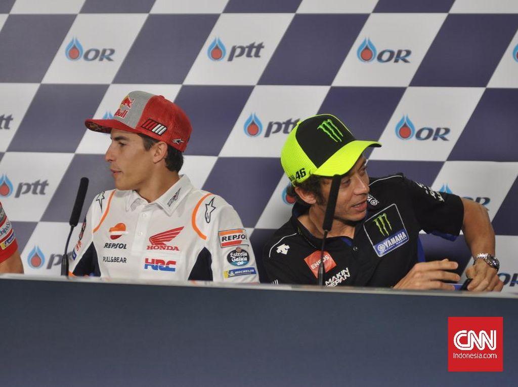 Simpati Rossi untuk Marquez yang Belum Pulih Cedera