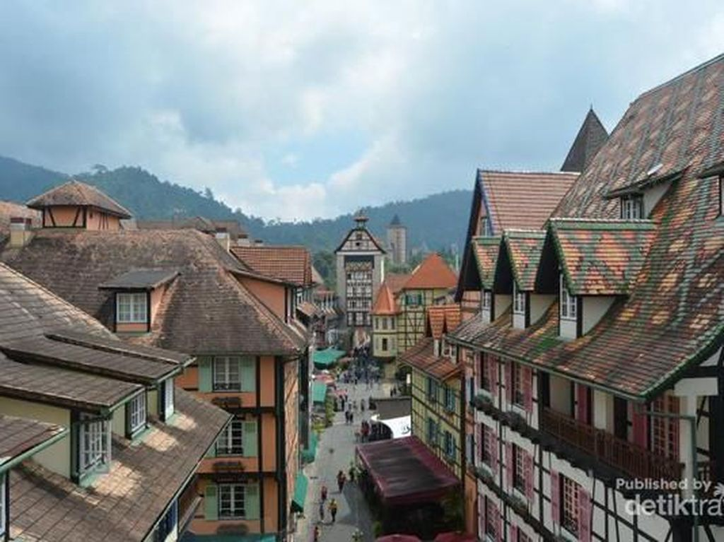 Ada Desa Prancis di Negeri Jiran