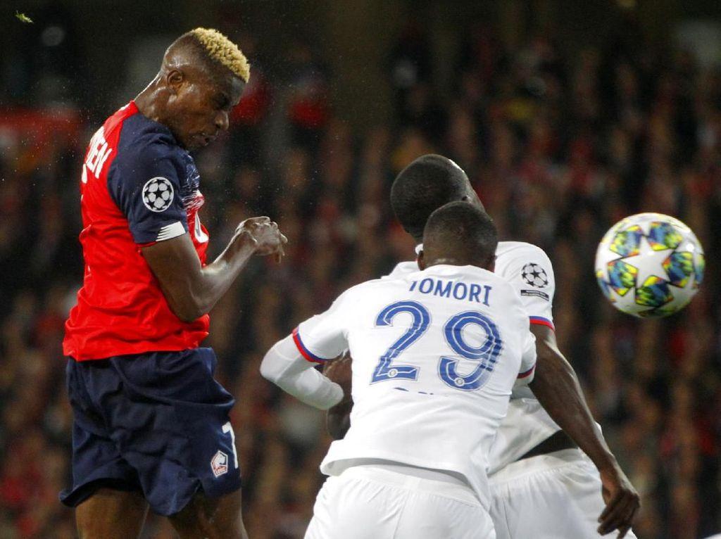 Lille Vs Chelsea 1-1 di Babak Pertama