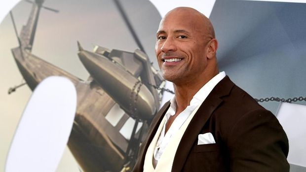 HOLLYWOOD, CALIFORNIA - JULY 13: Dwayne Johnson arrives at the premiere of Universal Pictures'