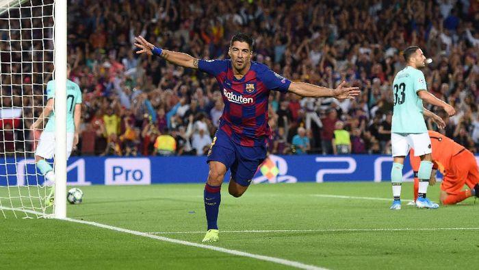 Luis Suarez akan berusia 33 tahun pada Januari 2020 mendatang. (Foto: Alex Caparros/Getty Images)