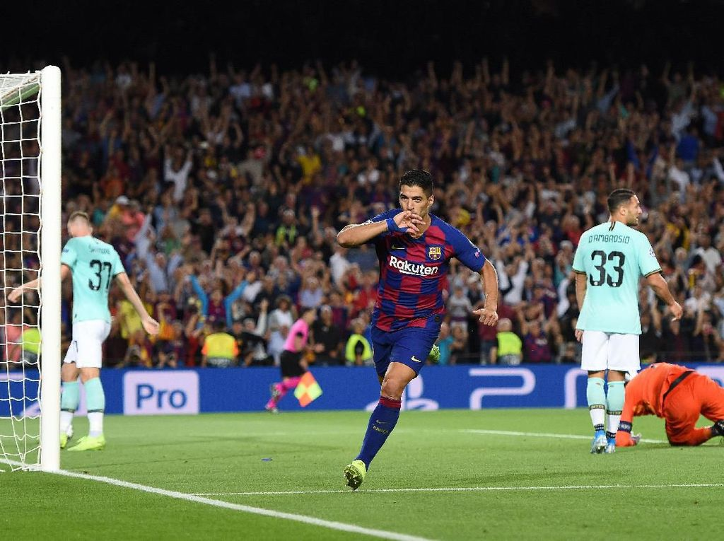 Barcelona Beri Inter Kekalahan Pertama di Musim Ini