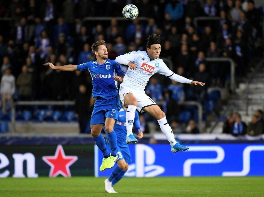Genk Vs Napoli Berakhir Imbang Tanpa Gol