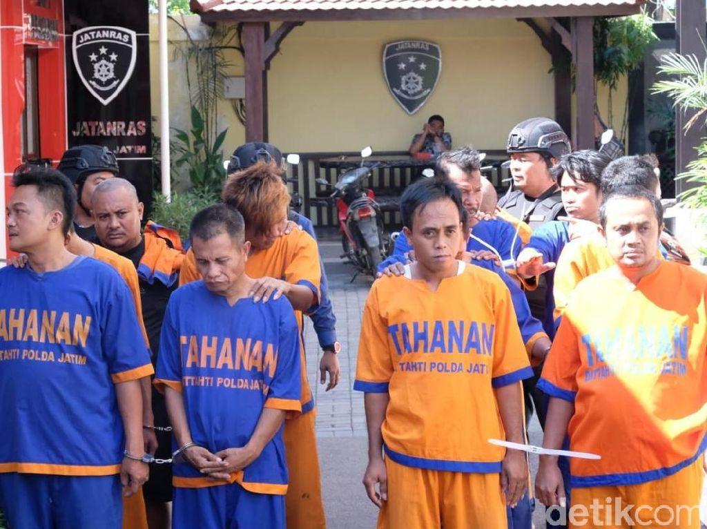 Polda Jatim Ringkus 17 Penjahat di Operasi Sikat Semeru 2019