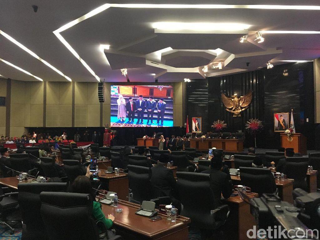 Video Prasetyo Edi dan Taufik Kembali Jadi Pimpinan DPRD DKI