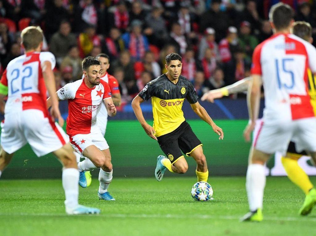 Slavia Praha Vs Dortmund: Die Borussen Menang 2-0