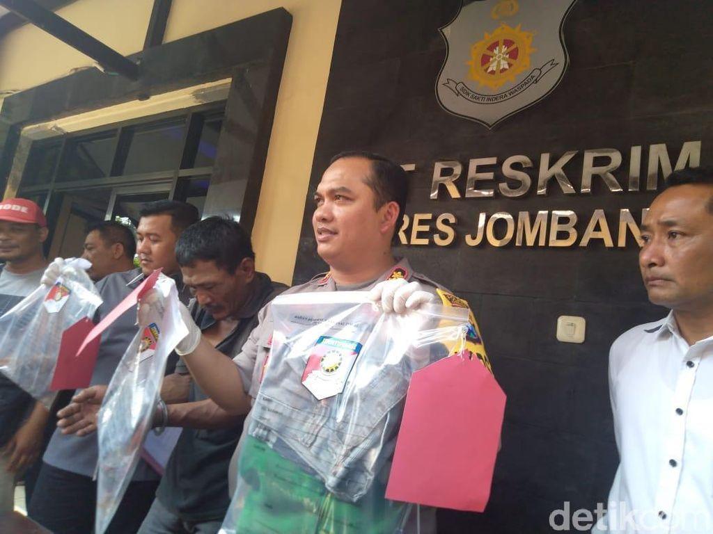 Pembunuhan Penjual Nasi di Jombang Dipicu Cinta Segitiga