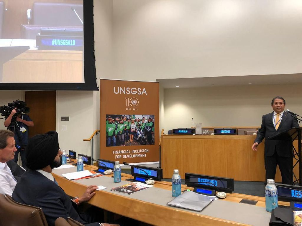 Gojek Menggema di Sidang Umum PBB