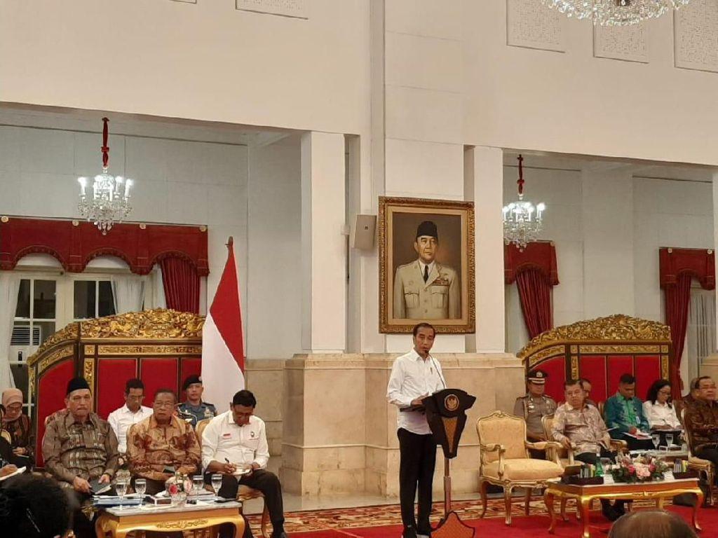 Sidang Kabinet Paripurna Terakhir, Jokowi: Terima Kasih Menteri
