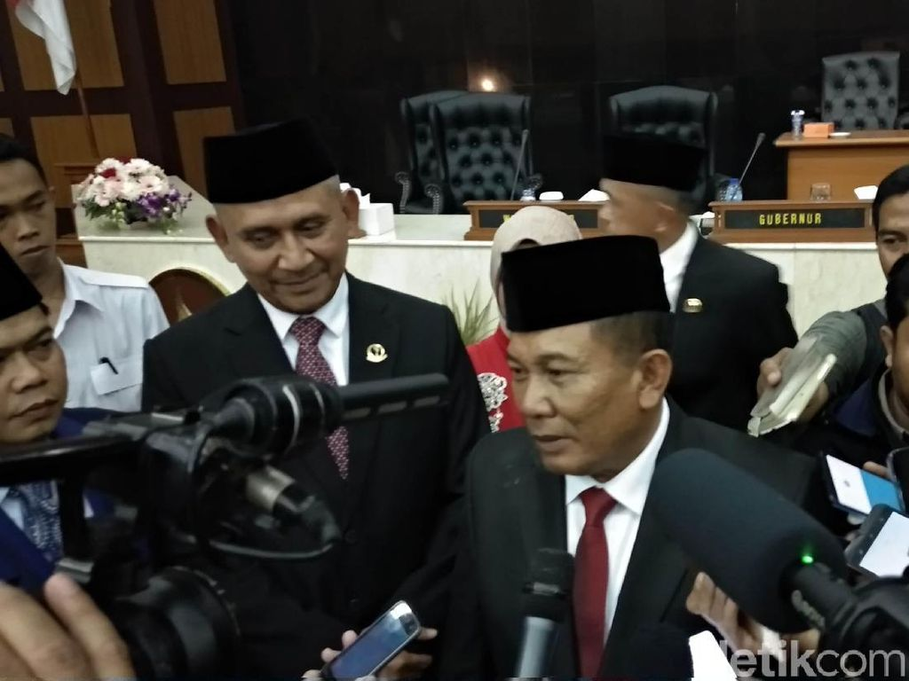 Taufik Hidayat dari Gerindra Dilantik Jadi Ketua DPRD Jabar