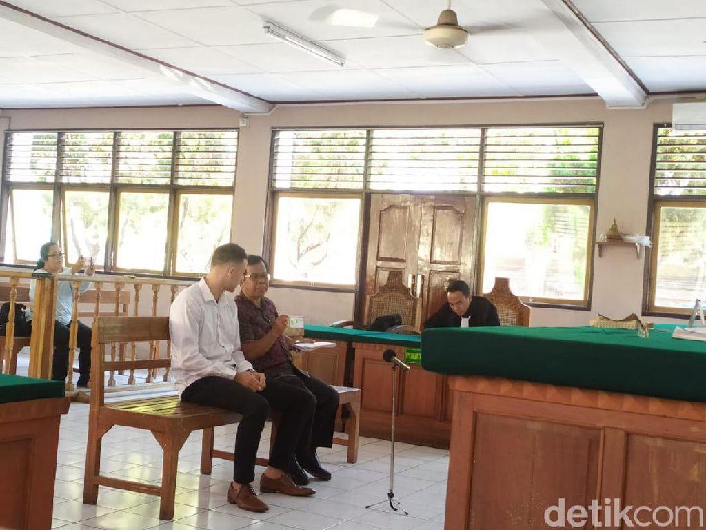 WN Australia Penjambret Turis Belanda di Canggu Bali Dituntut 5 Bulan Bui