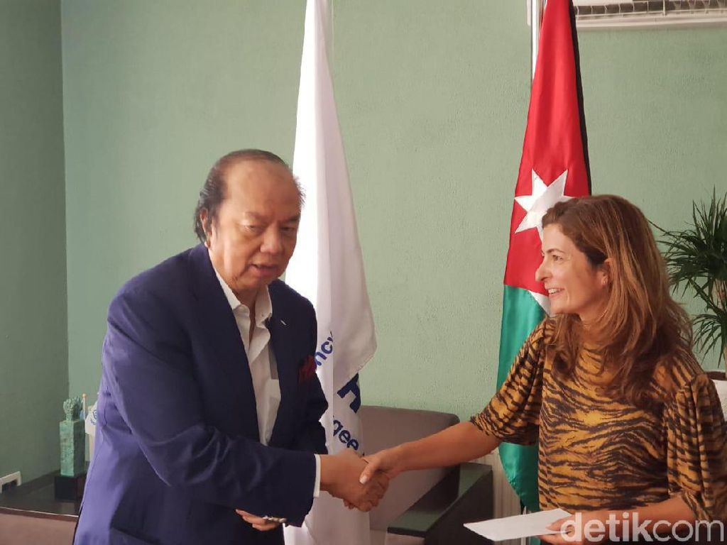 Orang Terkaya RI Bantu Pengungsi Palestina dan Suriah Rp 7 M