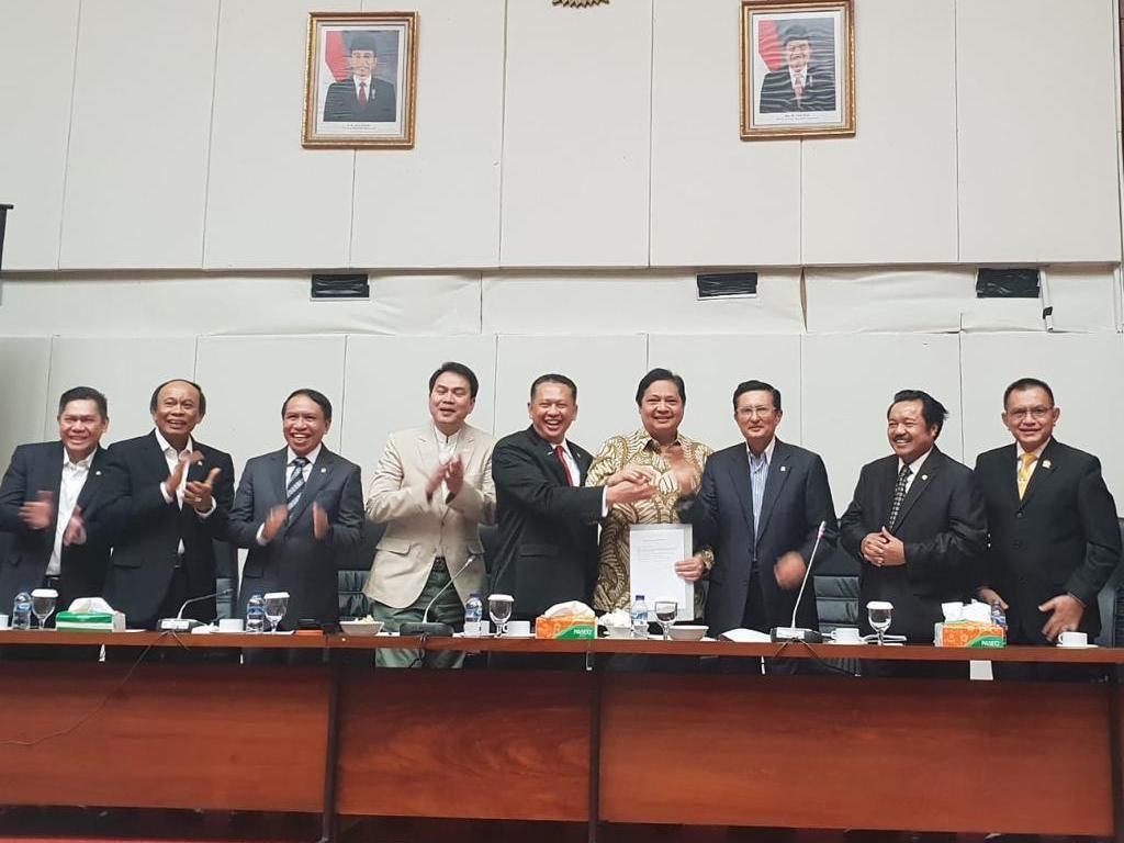 Bamsoet Jadi Ketua MPR Keberhasilan Partai Golkar Pascareformasi