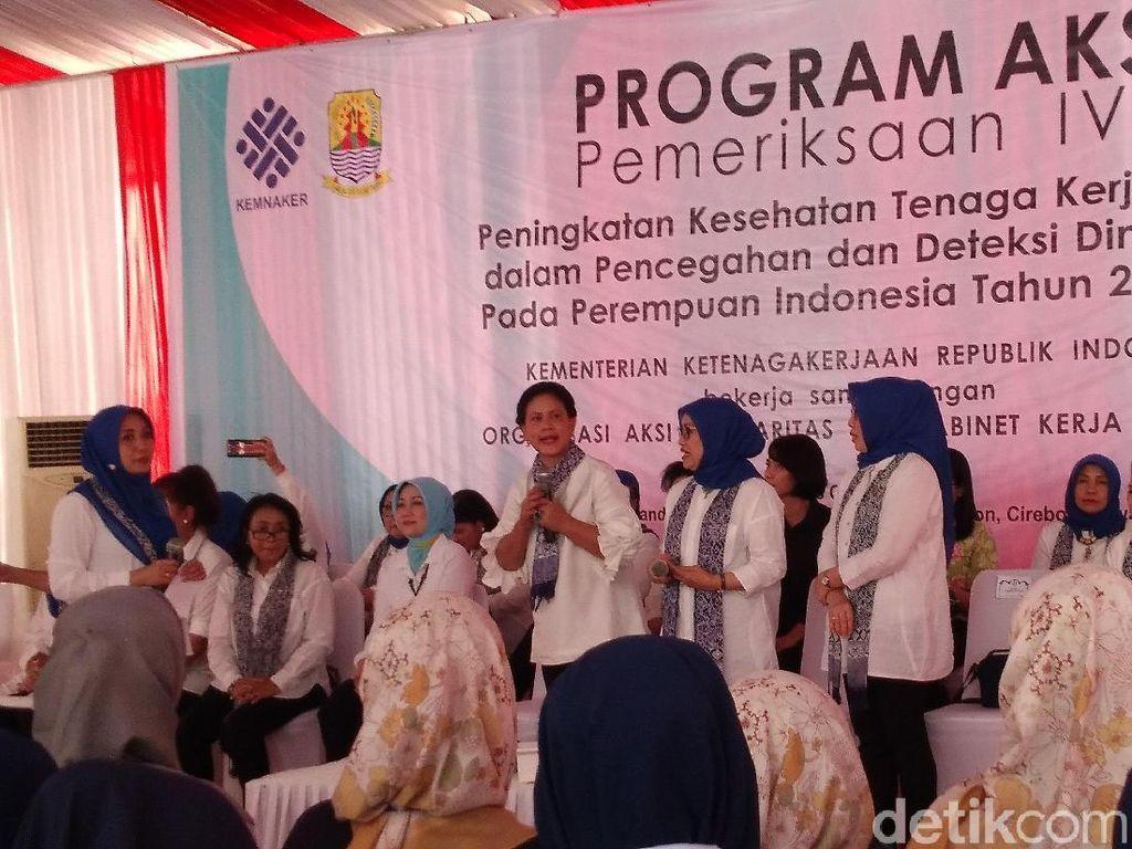 Selama 5 Tahun, 20 RIbu Pekerja Perempuan Indonesia Ikut Tes IVA