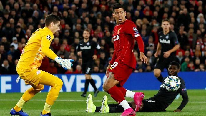 Liverpool dan Red Bull Salzburg berebut tiket 16 besar di matchday terakhir grup Liga Champions (Jason Cairnduff/Action Images via Reuters)