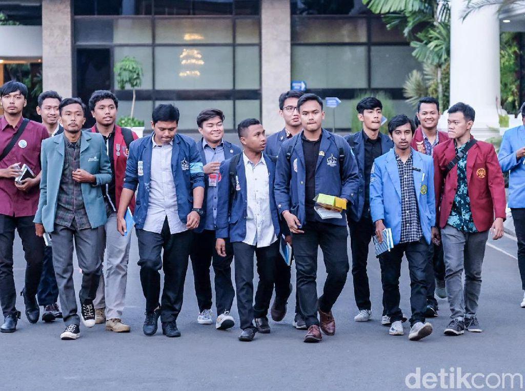 5 Hari Jelang Demo Besar, Mahasiswa Tunggu Pernyataan Jokowi soal Perppu KPK