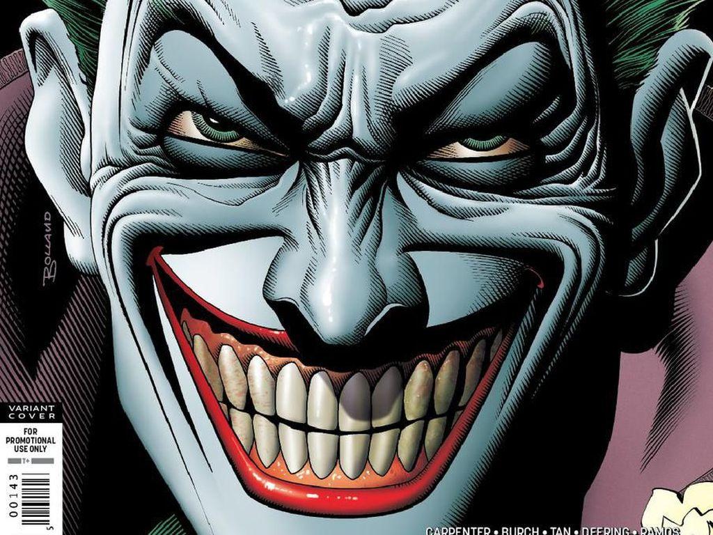 DC Ucap Terima Kasih pada Penjual Komik Eksklusif Joker