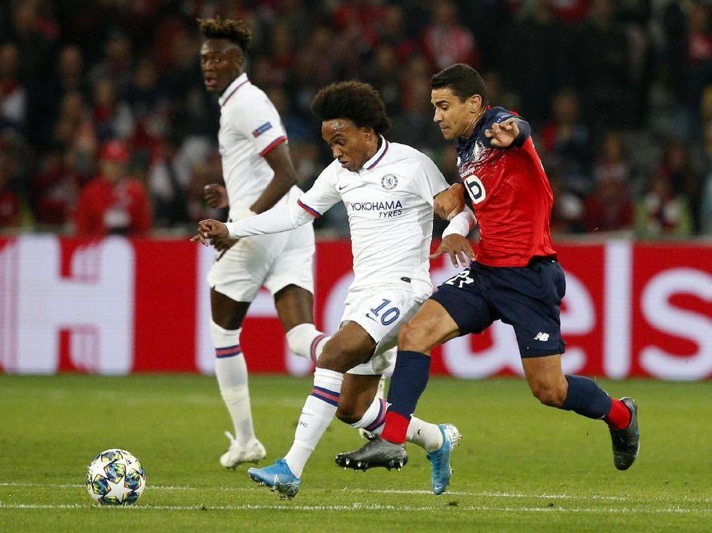 Lille Vs Chelsea: The Blues Susah Payah Menang 2-1