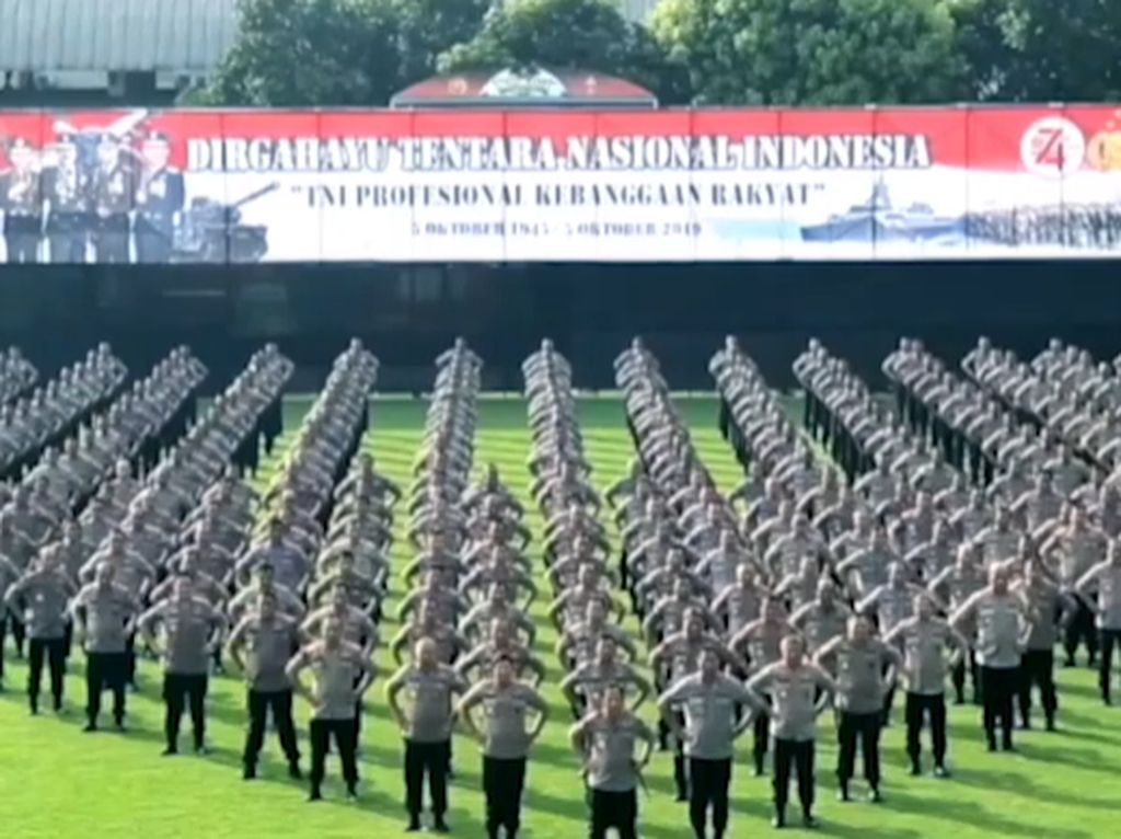 Kapolri: Selamat Hari Tentara Nasional, TNI Kebanggaan Rakyat