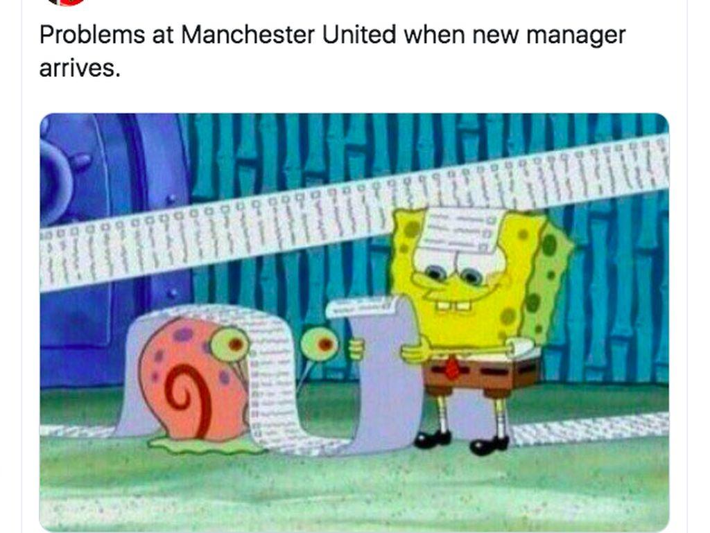 Kembali Melempem, Manchester United Ramai Dihujat Netizen