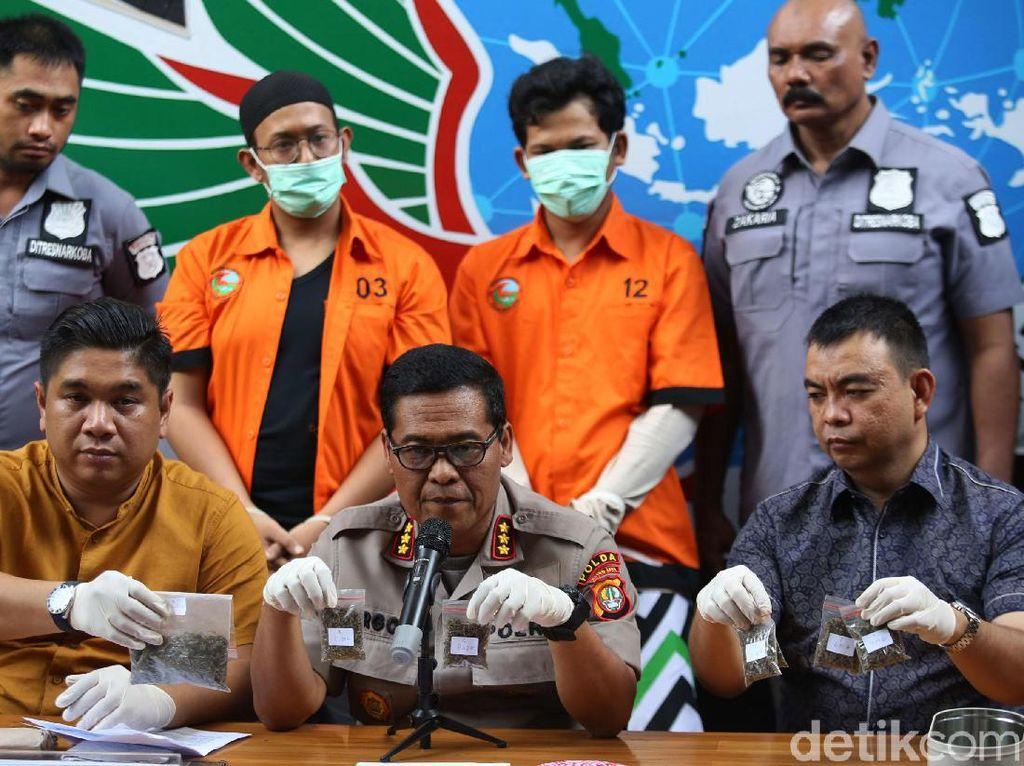 Polisi Tetapkan Rifat Umar Tersangka Kasus Narkoba, Pacarnya Direhab