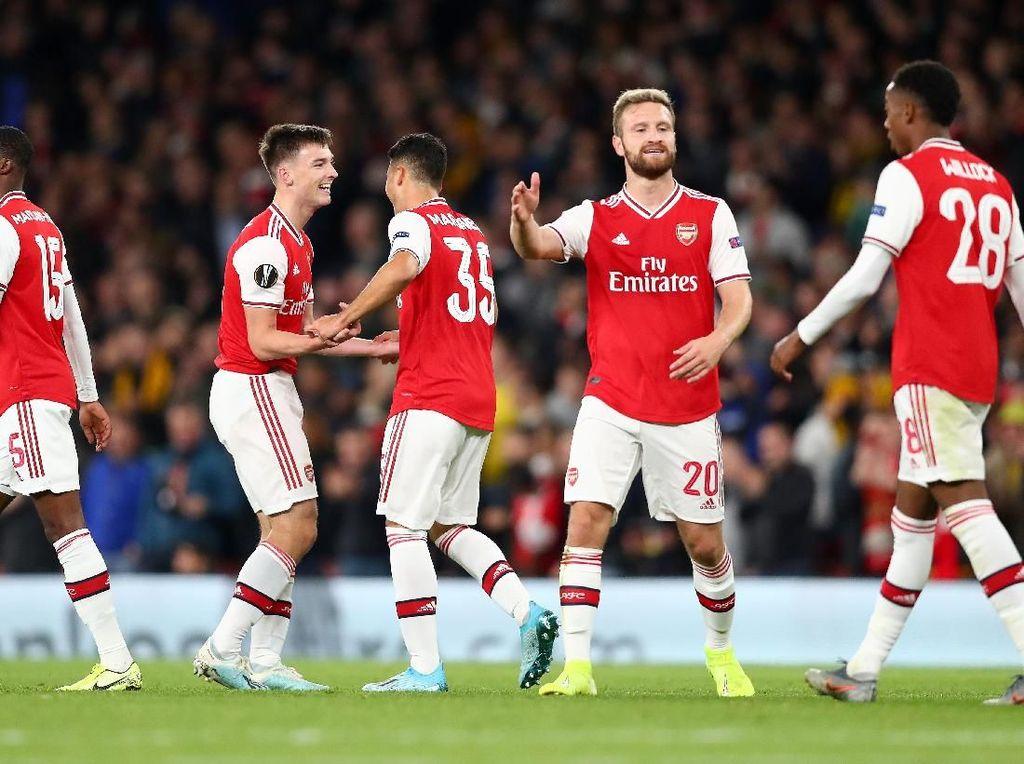 Arsenal Vs Standard Liege: The Gunners Menang 4-0