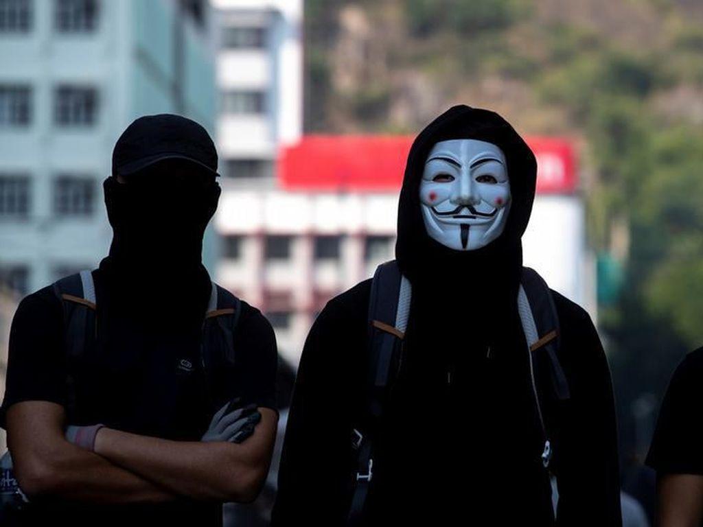 Otoritas Hong Kong akan Larang Penutup Wajah Saat Unjuk Rasa