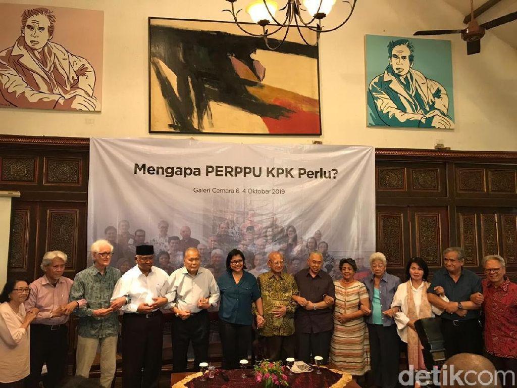 Dukung Perppu KPK, Emil Salim Tak Mau Balik ke Zaman Korupsi