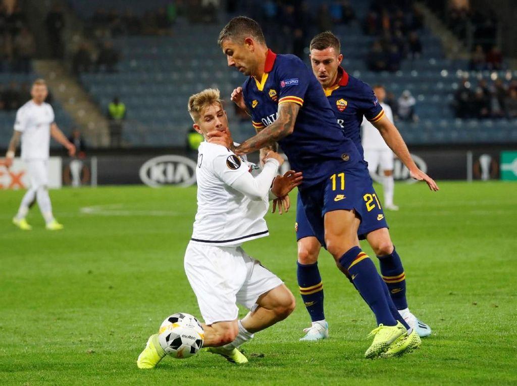 Hasil Liga Europa: Roma Ditahan Imbang Wolfsberger 1-1