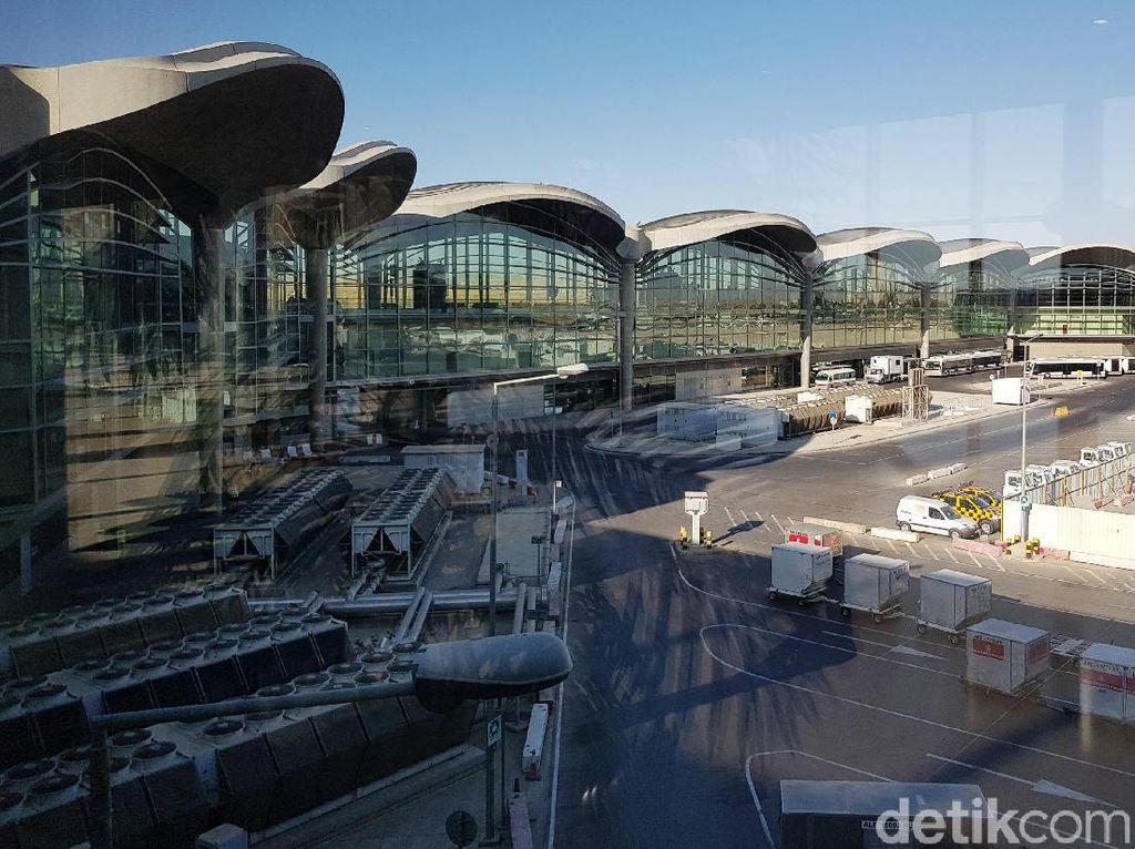 Mau ke Yordania? Ini Lho Penampakan Bandaranya
