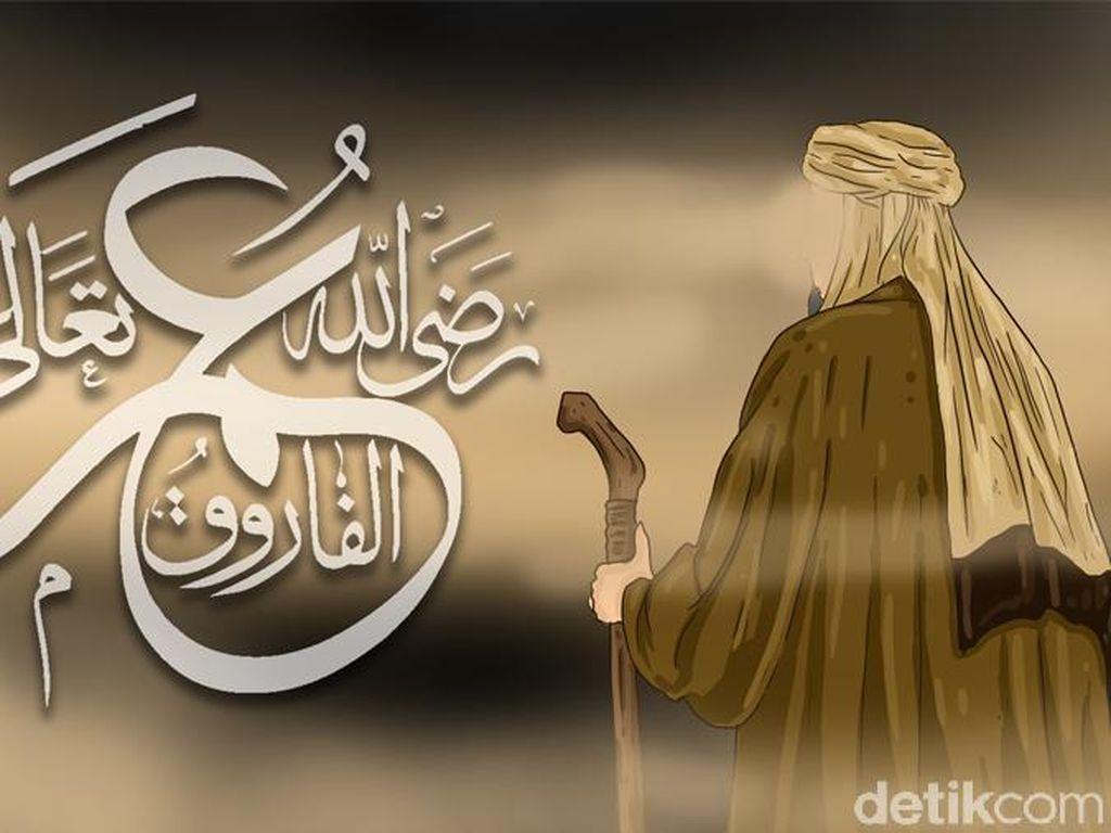 Tragedi Penusukan Terhadap Umar bin Khattab saat Jadi Imam Sholat Subuh