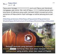 Facebook Bongkar Jaringan Akun Palsu di Indonesia Terkait Papua Barat