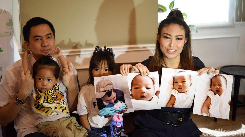 Usai Lahiran, Ayu Dewi Berbagi Cerita soal Anak Ketiga