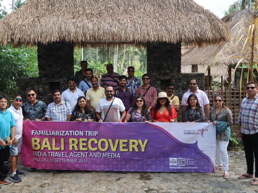 Pulihkan Bali Pascaerupsi, Kemenpar Ajak Wisman India Famtrip