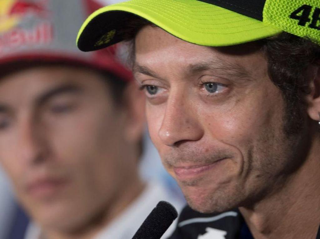 Rossi Masih Aja Keteteran Dibandingkan Pebalap Yamaha Lain