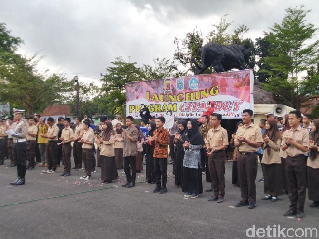 Cegah Kenakalan Remaja, Polres Banjar Launching Citanduy