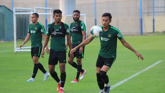 Timnas Indonesia bersiap menghadapi Uni Emirat Arab. (Foto: dok. Humas PSSI)
