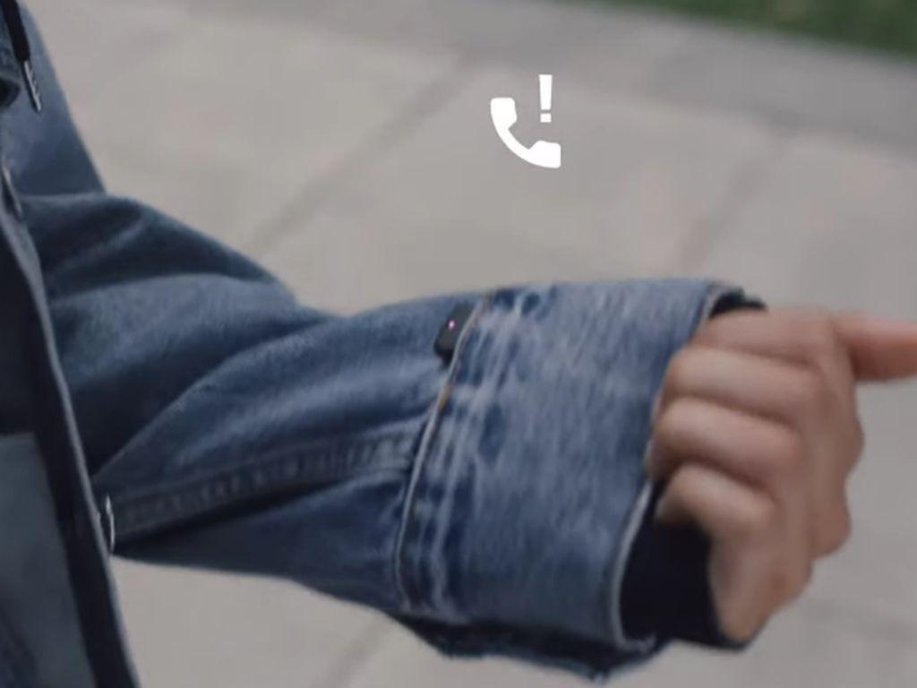 Kolaborasi dengan Levis, Google Buat Jaket Pintar