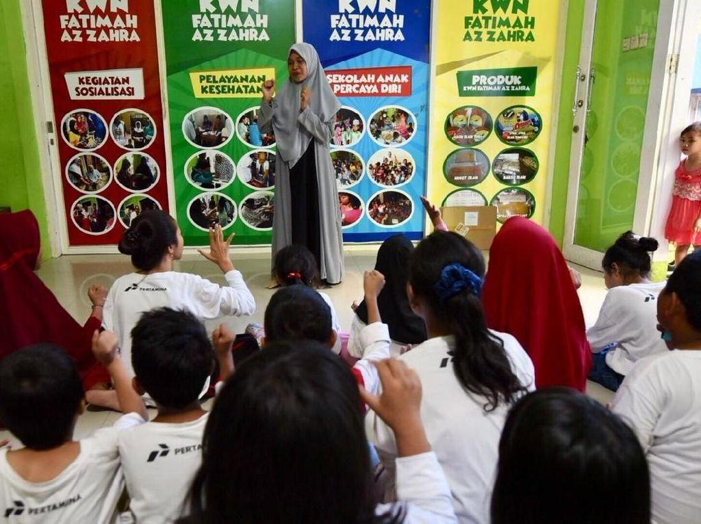 Pulihkan Korban Trauma, Pertamina Bangun Sekolah Anak Percaya Diri