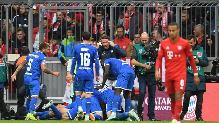 Bayern Munich kalah 1-2 dari Hoffenheim di kandang (Foto: REUTERS/Andreas Gebert)