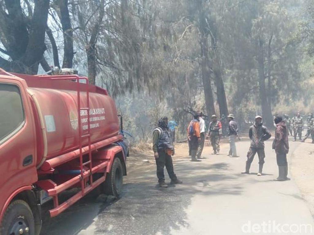 Sempat Kebakaran, Puncak Penanjakan Bromo Malam Ini Kembali Dibuka
